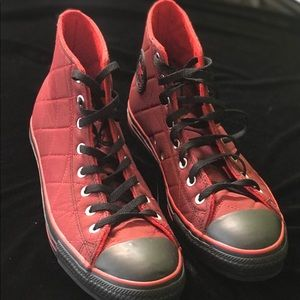 Converse All Star men's Black & Red shoes size 11